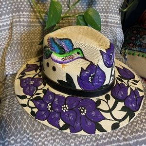 Hand hat painted